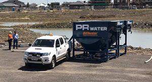 Dewatering Treatment Systems at PR Water Australia