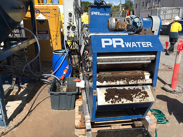 Treating Sludge with a Belt Filter Press - Gallery 3