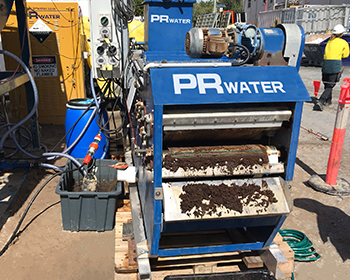 Treating Sludge with a Belt Filter Press